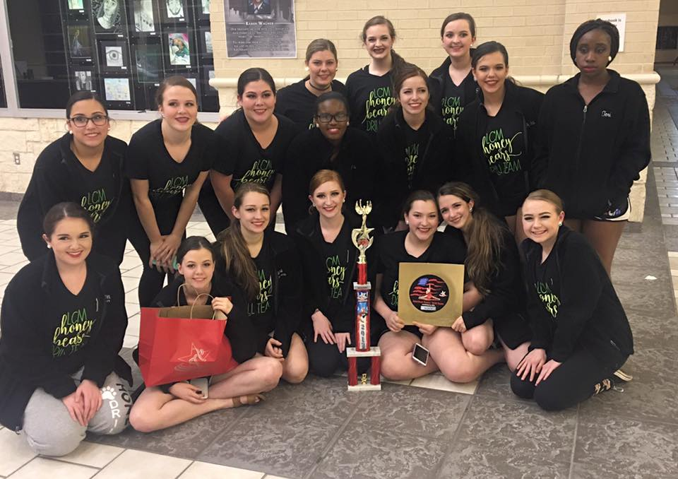The Honey Bears recently competed in San Antonio.