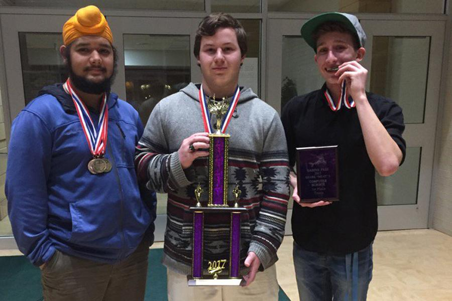 The Academics UIL team brought home the Sweepstakes title at the Shark Meat X.