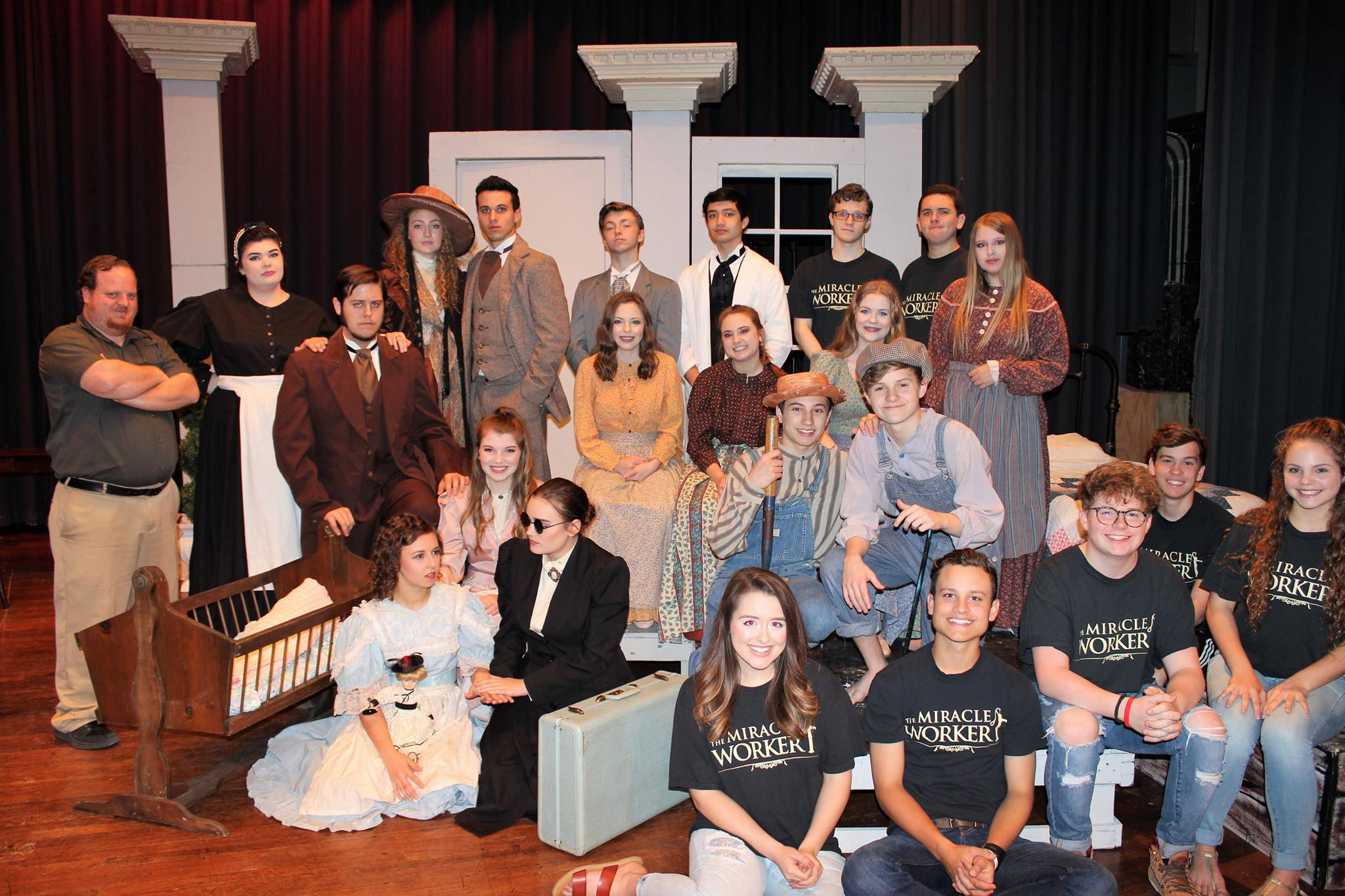 One Act Play is one step away from the State competition.