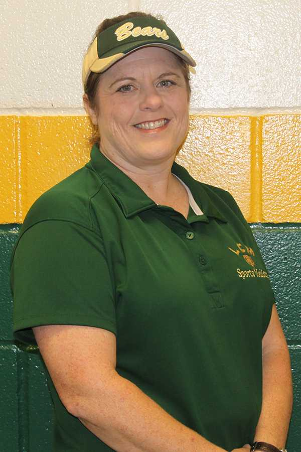 Sheri Hoffpauir puts in many long hours as the LCM High School trainer.