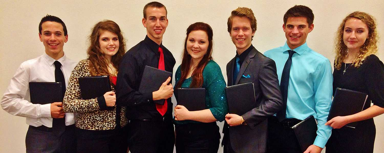 Five Poetry and Prose readers advanced to the final round of competition this past weekend.
