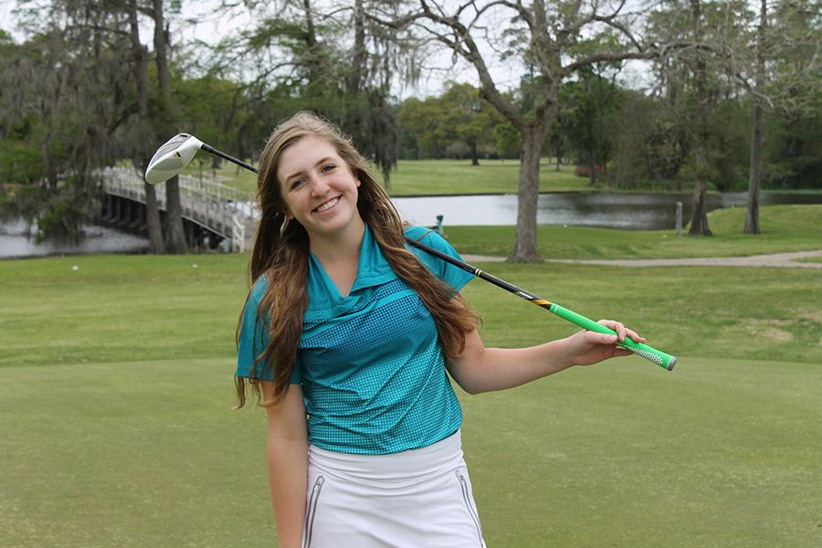 Lauren Cox will compete at the State Golf Tournament.