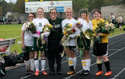 Lady Bear Soccer Senior Night 2015