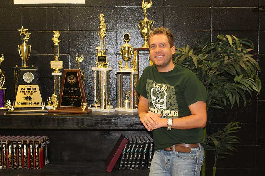 Theatre director Cory Broom has been at LCM for five years.