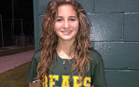 Freshman Softball Player Takes Varsity Position