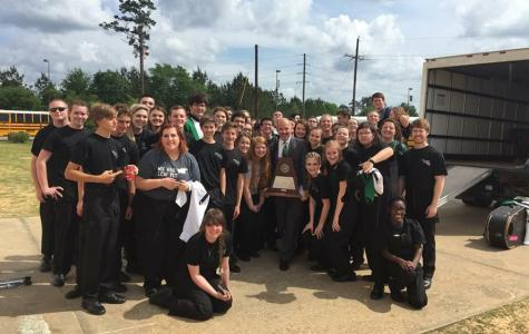 Bands Win Sweepstakes Trophies