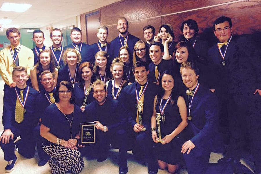 The+One+Act+Play+cast+and+crew+won+first+place+in+the+Area+round+of+competition.+