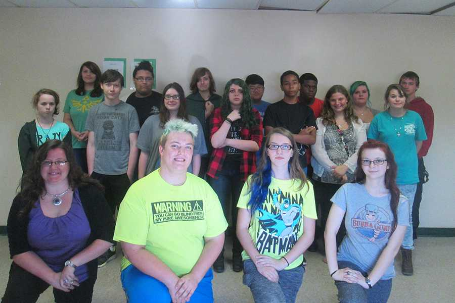 The Anime Club is only in its third year and is still growing.