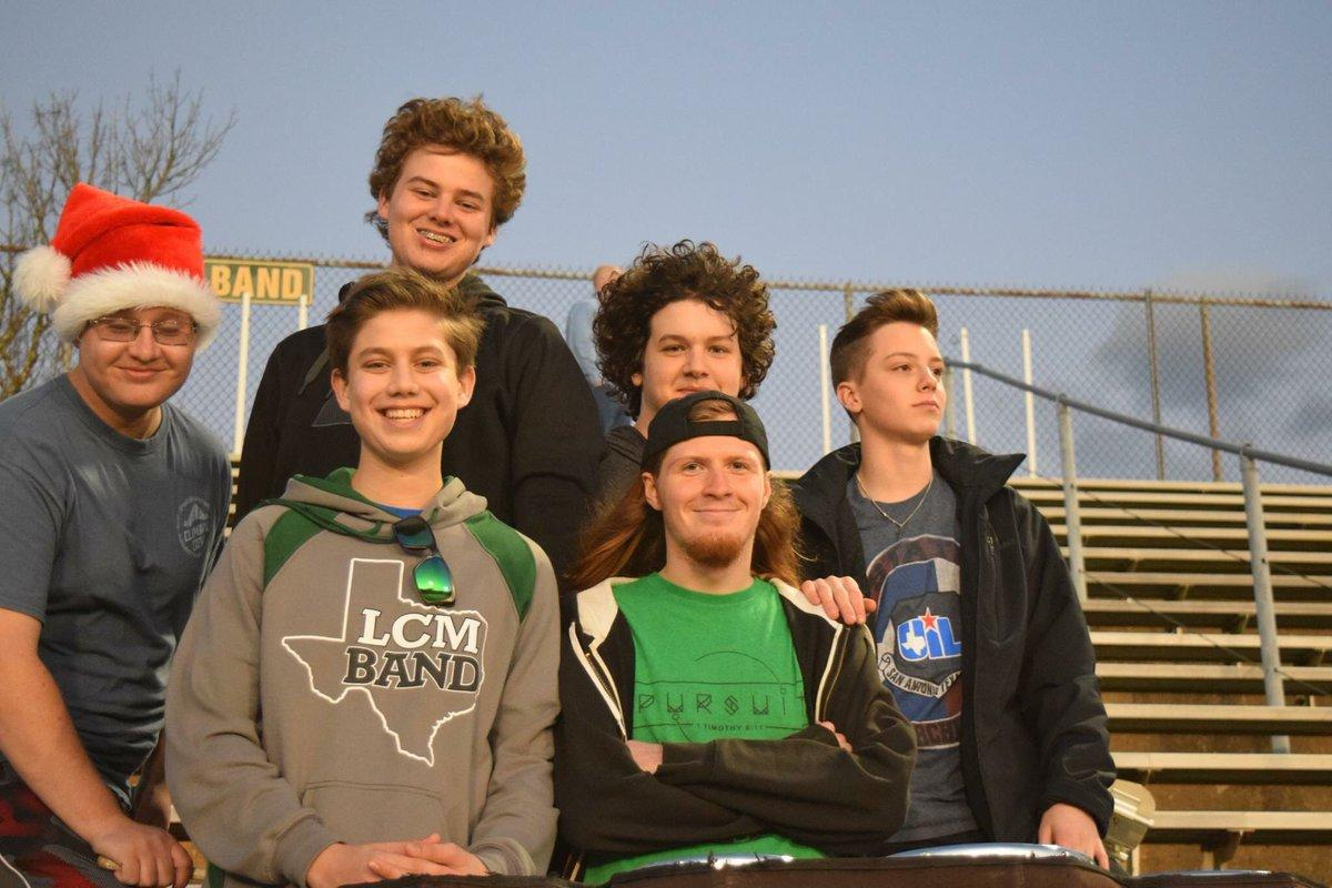 The drumline supports many different teams, such as boys soccer.