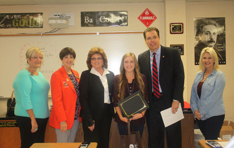 Lauren Cox Named Student of the Month