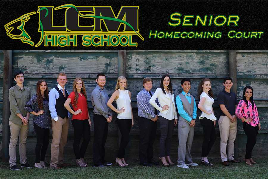 Two of these seniors will be crowned Homecoming King and Queen this Friday night.