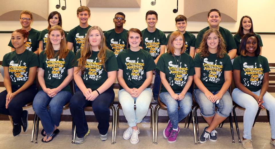 Several LCM students competed and made the All-Region Choir.