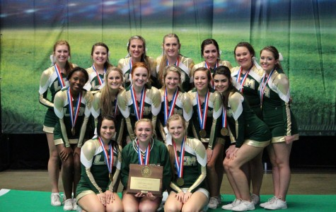 Cheerleaders Place Third at State Competition