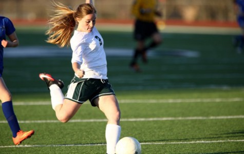 Soccer Player Sets Goals for Senior Year