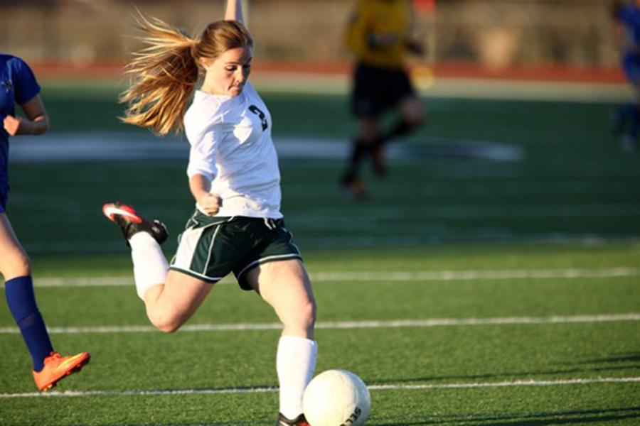 Senior Carlee Chaddrick has a love for the game of soccer.