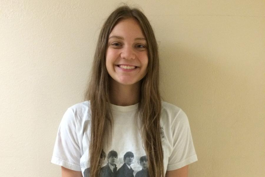 Lillie East is a senior who is excited about her future after graduation.