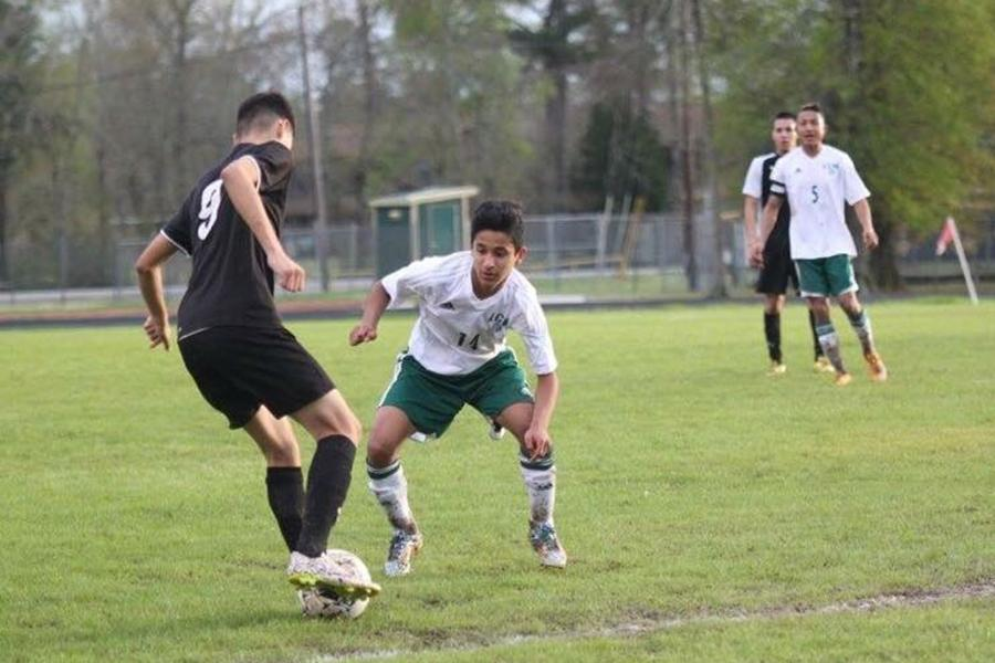 Sophomore Samir Zambrano is one of the biggest leaders on the Bear Soccer team.