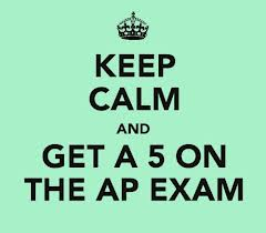 Students will begin taking AP tests in May.