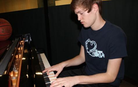 Sophomore Balances Sports, Music