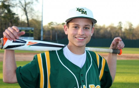 Freshman baseball player has bright future