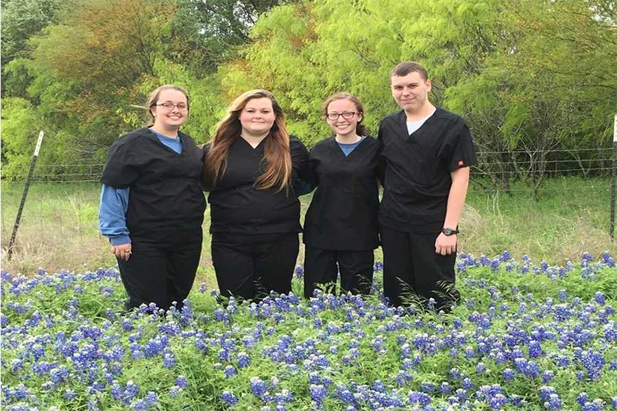 The Vet Tech team recently advanced to the State meet.