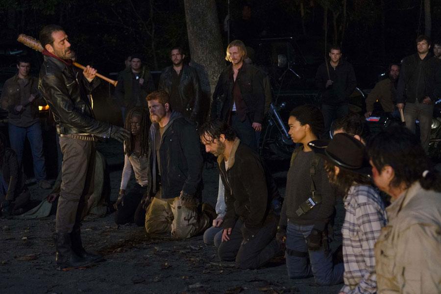 Rick and the group meet Negan