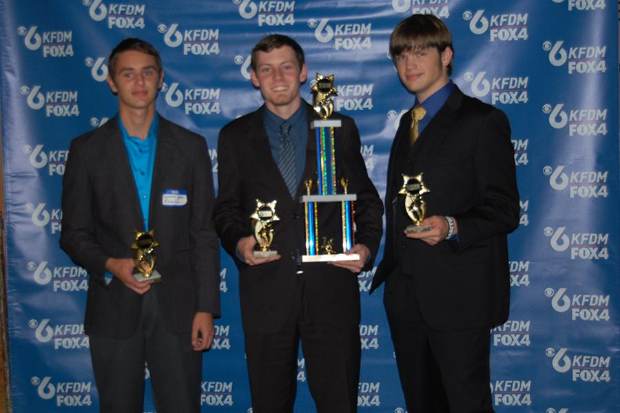 The quiz bowl team was recognized by Channel 6 last Monday night.