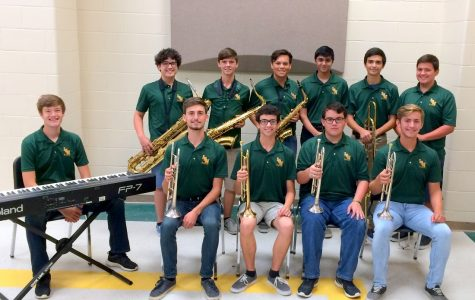 Students selected for All-Region Jazz Band