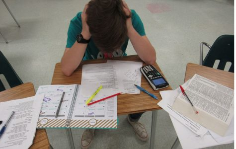 Young adults struggle with pressures of school, work