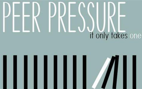 Peer pressure has positive, negative effects