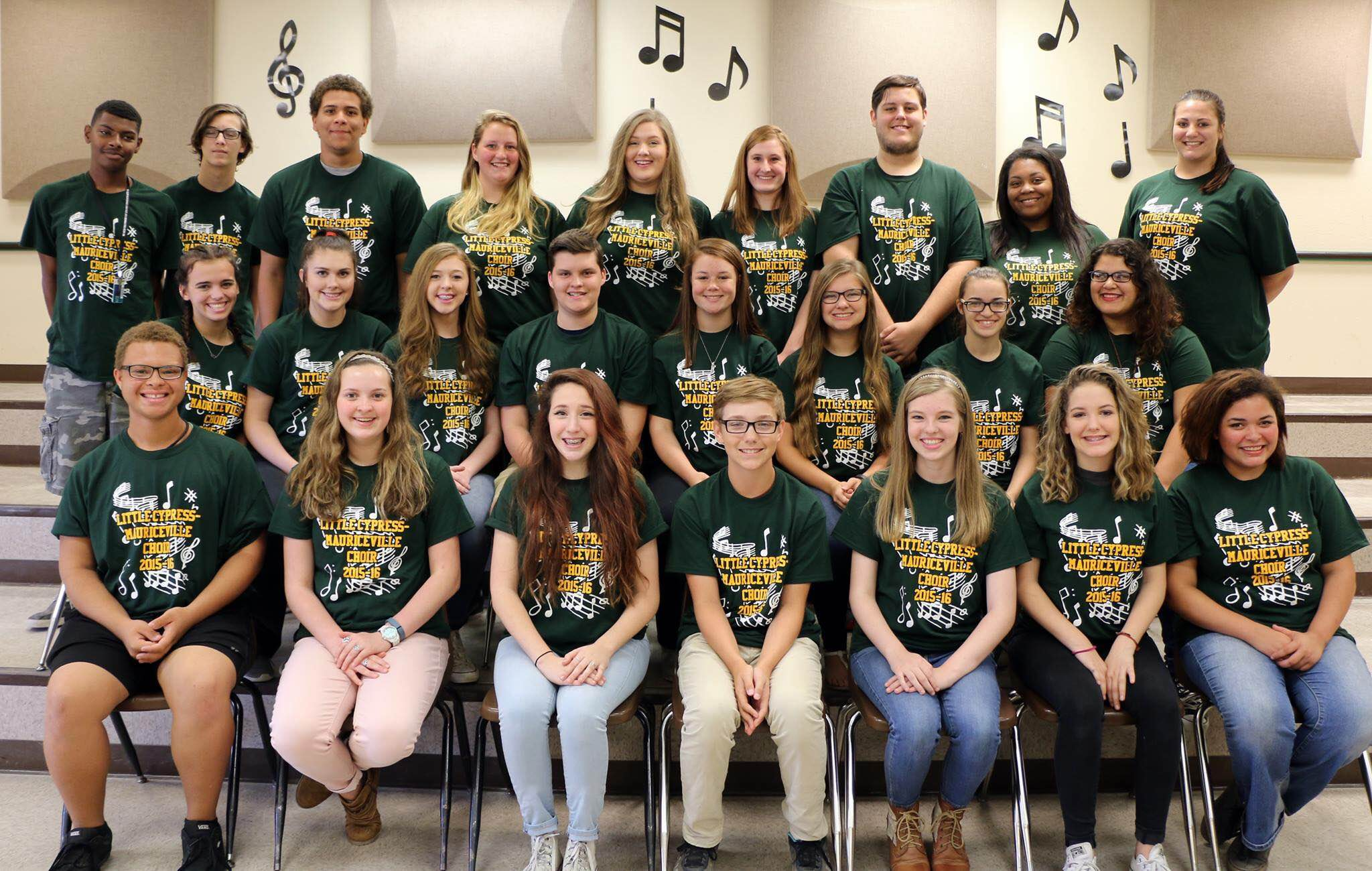 The LCM Choir is getting ready to move on to the next level of competition.