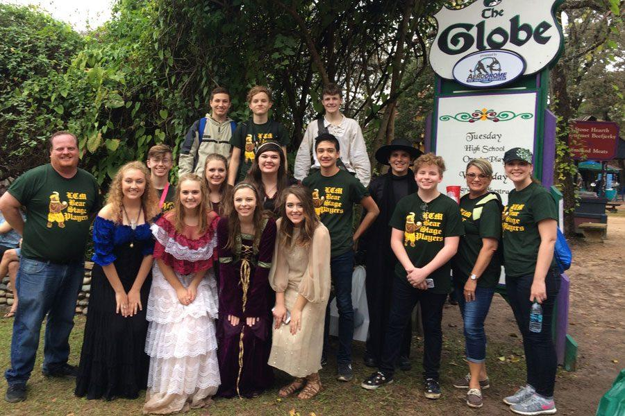Theatre+Director+Clark+Reed+and+his+Thespian+performers+compete+at+the+Renaissance+Festival.