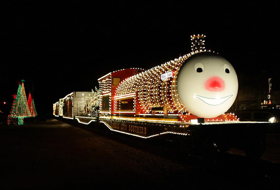 The KCS Holiday Express Train will be down Houston Avenue in  Port Arthur on Dec. 8.