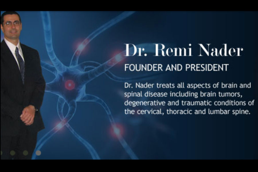 Dr. Remi Nader is the founder and president of Texas Center for Neurosciences.
