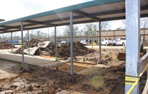 Campus construction makes progress
