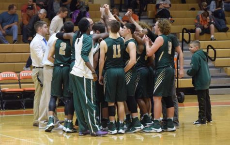 Basketball team gets 20 wins, focuses on district play