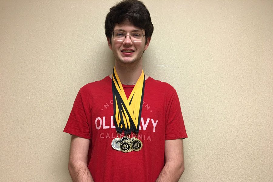 Senior+Thomas+King+has+seen+much+success+from+his+days+of+competing+in+UIL.+