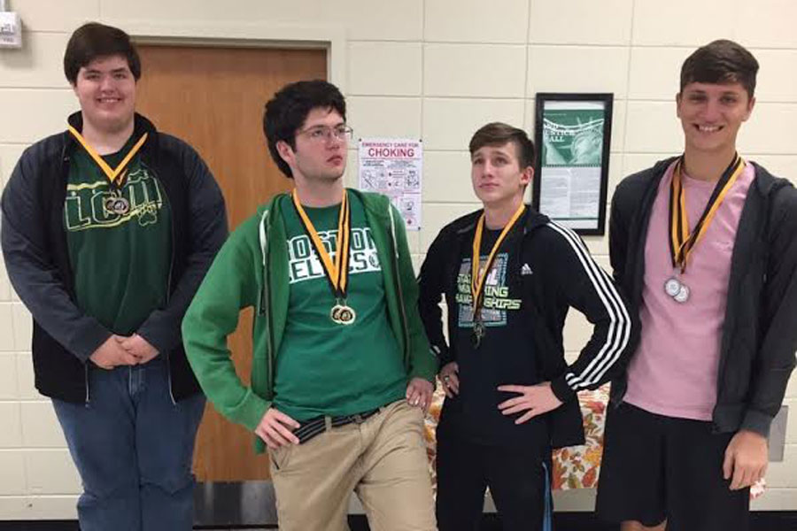 LCM's UIL Number Sense team brought home first place at the Nederland UIL meet.