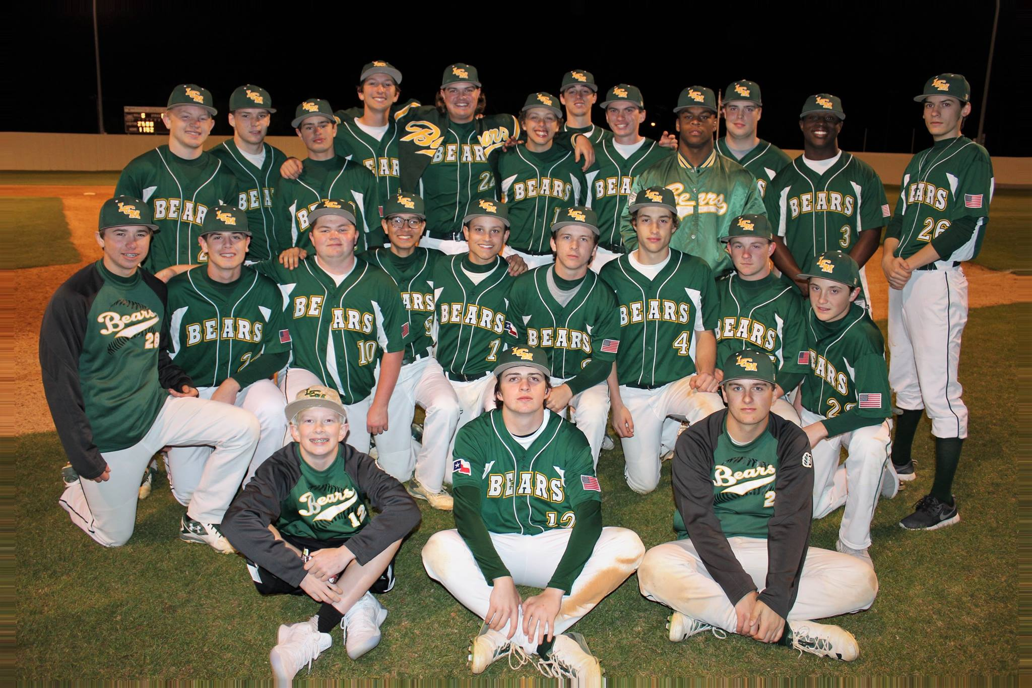 The Bear Baseball team finished in 2nd at the Howard Estes Memorial Scholarship.