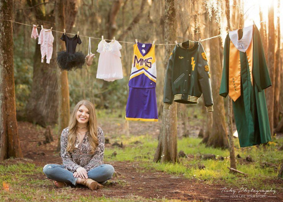 Senior+Kaylee+Pattillo+captures+all+of+her+special+life+moments+in+her+senior+pictures.+