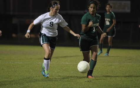 Girls soccer finishes season as Co-District Champs