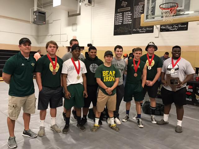 The+boys+powerlifting+team+was+very+successful+at+the+Regional+meet+in+Anahuac.+