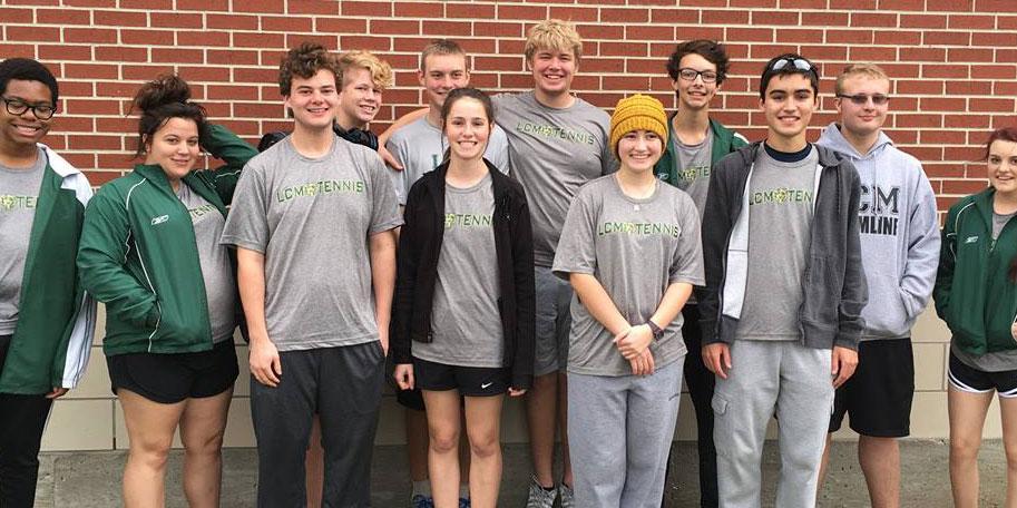 The tennis team has had a successful season so far.