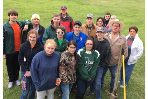 Eagle Scout project soars