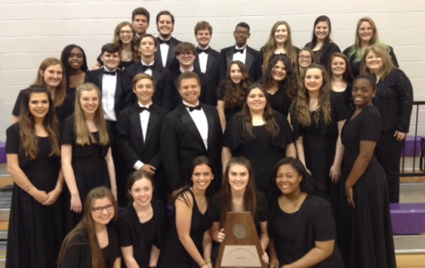 The choir recently won Sweepstakes.