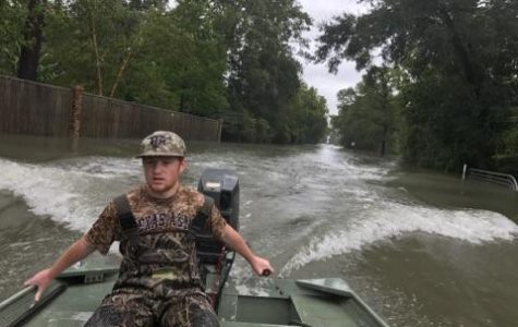 Sophomore saves lives during storm