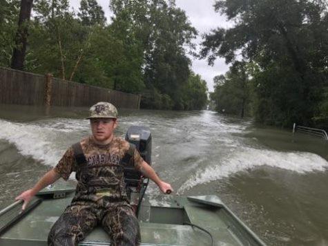 Sophomore saves lives during storm