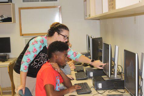 Junior high teacher adjusts to new campus, life