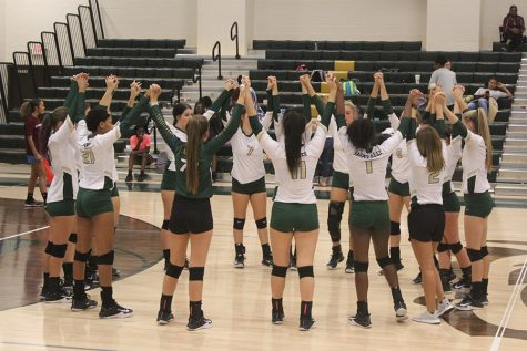 Lady Bear Volleyball tied for first in district
