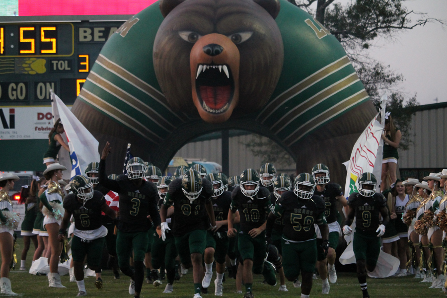 The Bears are currently 3-1 in district play.